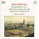 Beethoven: String Quartets Vol. 7 / Kodaly Quartet