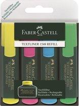 tekstmarker Faber Castell 48 4-delig etui FC-154804