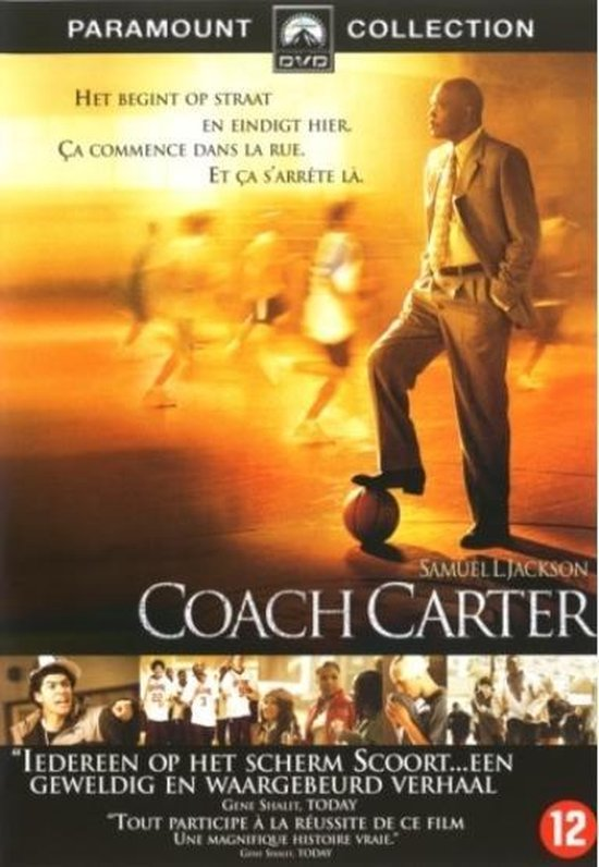 Cover van de film 'Coach Carter'