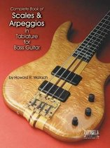 Scales & Arpeggios in Tab for Bass