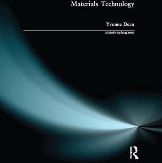 Boek cover Materials Technology van Yvonne Dean (Onbekend)