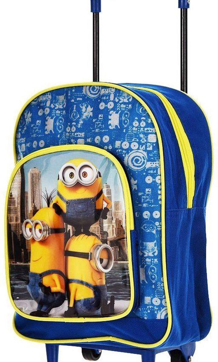 Minions Kinderkoffer - 31 cm - Blauw kopen