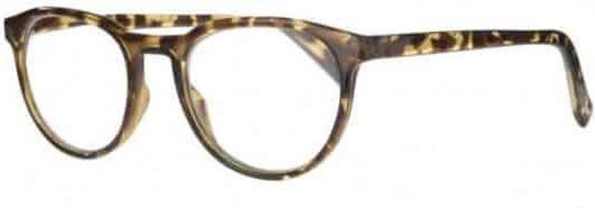 Icon Eyewear RCD350 Figo Leesbril +4.00 - Glanzend tortoise
