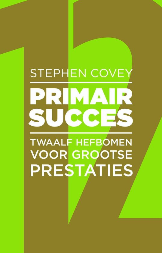 Primair Succes - Stephen R. Covey   Fthsonline.com