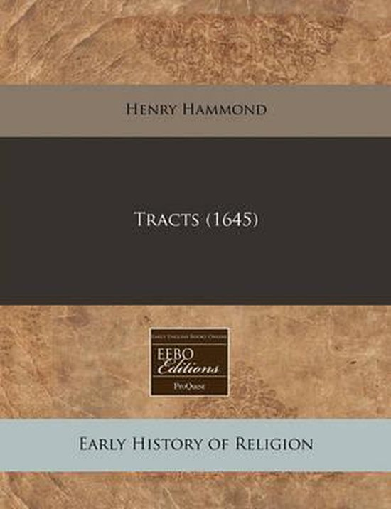 Tracts (1645)