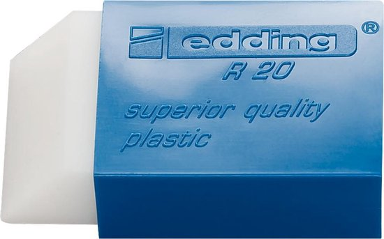 Afbeelding van edding Gum R20 L45 x B24 x H10 mm