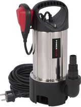 Powerplus POWEW67915 Dompelpomp - 900 W - 13000 l/h - inox behuizing - vuil en zuiver water