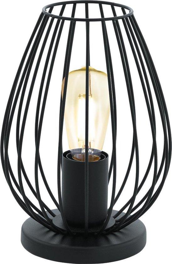 EGLO Newtown Tafellamp - 1 Lichts - Ø160mm. - Zwart