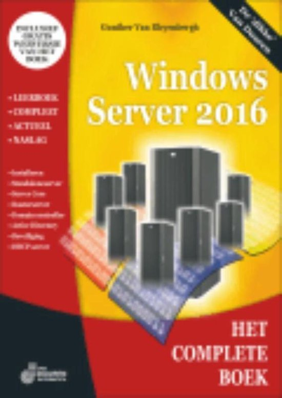 Het complete boek - Het complete boek windows server 2016 - van Bleyenbergh  