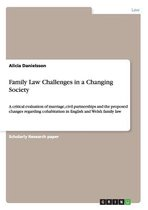 Family Law Challenges in a Changing Society