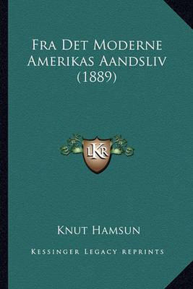 Fra Det Moderne Amerikas Aandsliv (1889)