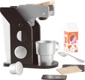 KidKraft Houten speelgoed koffiezetapparaat - Espresso kleurig