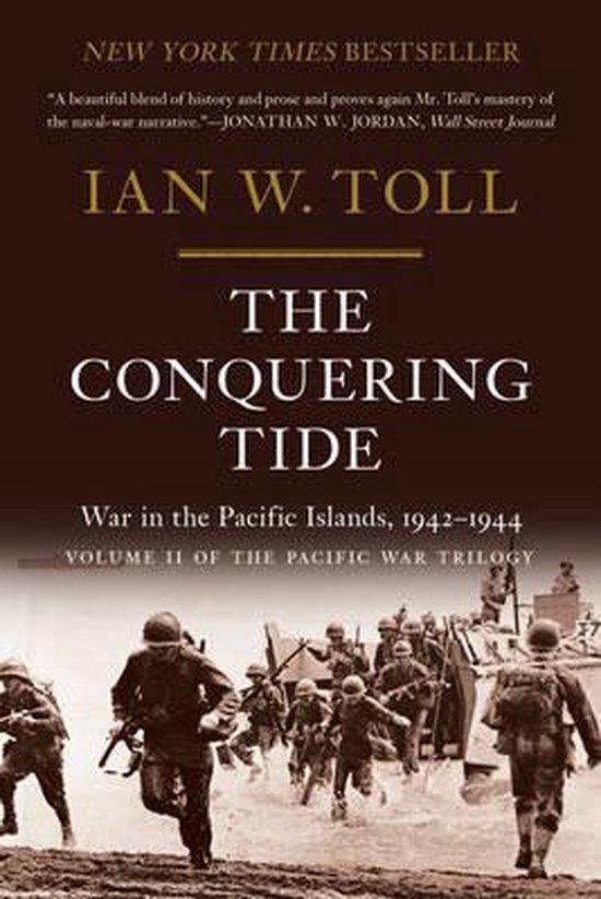 Boek cover The Conquering Tide van Ian Toll (Paperback)