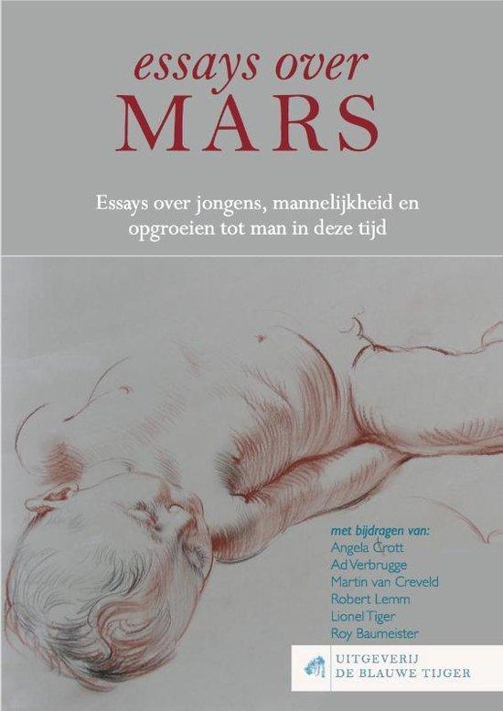 Blauwetijgerreeks 3 - Essays over Mars - Angela Crott  
