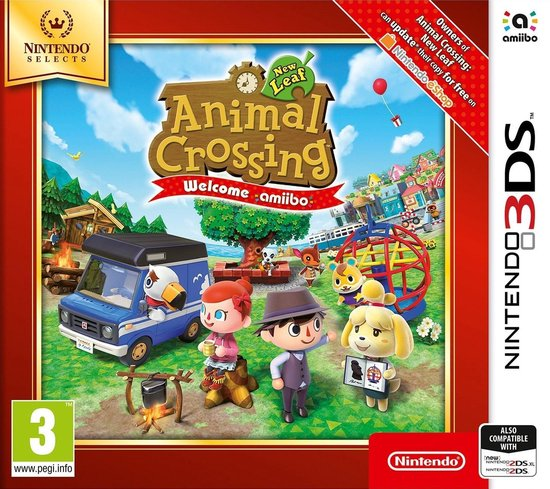Animal Crossing: New Leaf (Selects) - Nintendo 3DS