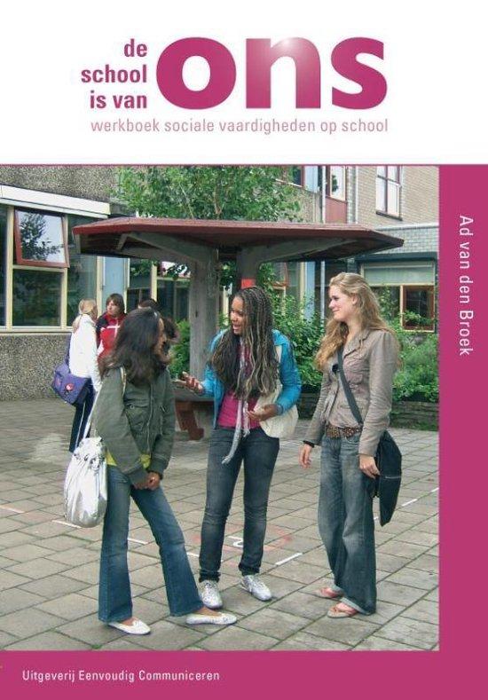 Schaduw-reeks - De school is van ons - Ad van den Broek pdf epub