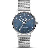 CO88 Collection 8CW-10015 - Horloge - Mesh - zilverkleurig - 36 mm