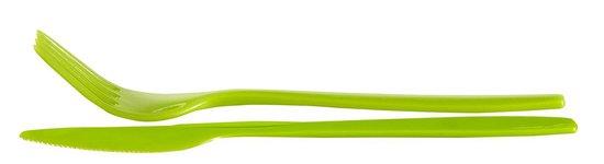 Curver Lunch&Go Lunchbox - Met Bestek - 2/3 Compartimenten - Groen