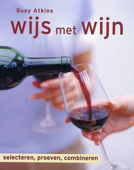Cover van het boek 'Wijs met wijn'