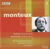 Monteux Conducts Brahms & Schumann