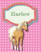 Handwriting and Illustration Story Paper 120 Pages Harlow