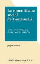 Le romantisme social de Lamennais