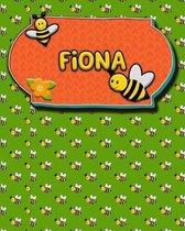 Handwriting Practice 120 Page Honey Bee Book Fiona
