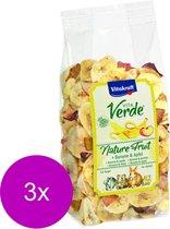 Vitakraft Vita-Verde Banaan En Appel - Knaagdiersnack - 3 x 100 g