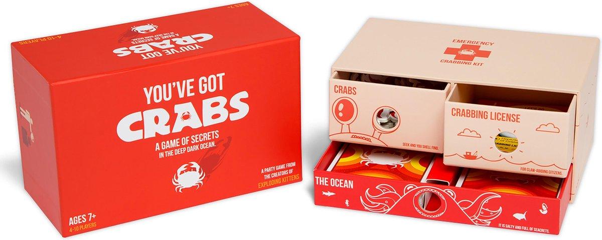 You've Got Crabs - Engelstalig Kaartspel - Exploding Kittens