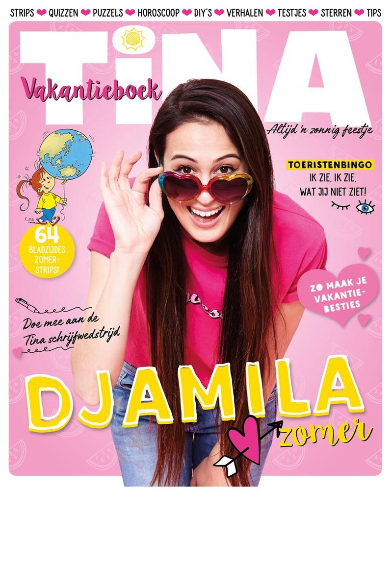 Tina - Vakantieboek 2018 - Sanoma Media