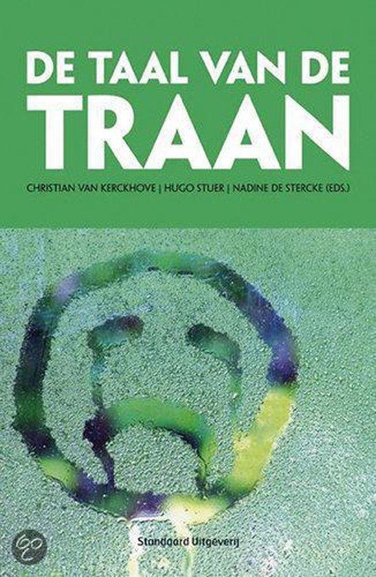 De taal van de traan - Christian van Kerckhove |