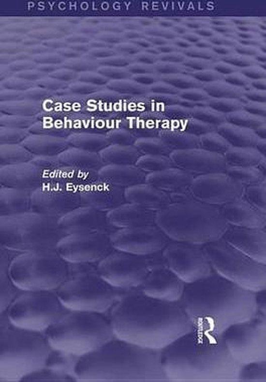 Boek cover Case Studies in Behaviour Therapy (Psychology Revivals) van