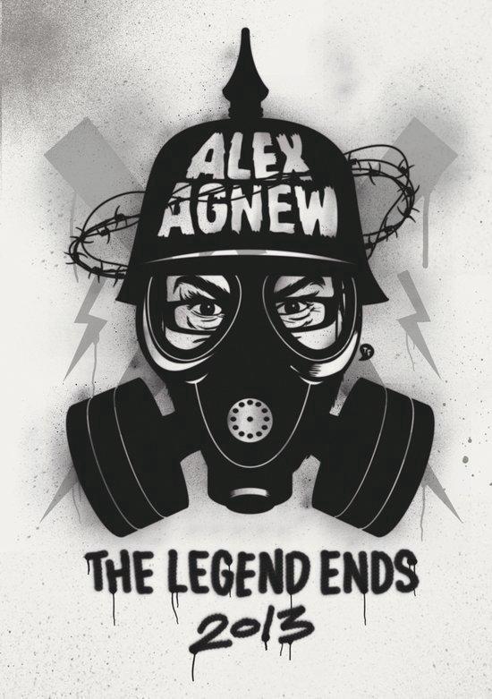 Cover van de film 'Alex Agnew - The Legend Ends'