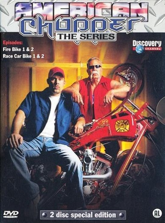 Cover van de film 'American Chopper'