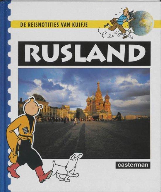Kuifje diversen De reisnotities van Kuifje - Rusland - Hergé |