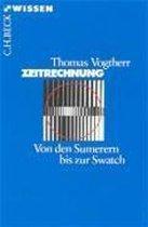 Boek cover Zeitrechnung van Thomas Vogtherr
