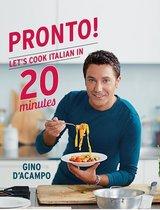Boek cover Pronto! van Gino DAcampo