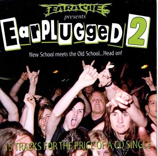 CD cover van Earplugged, Vol. 2 van various artists