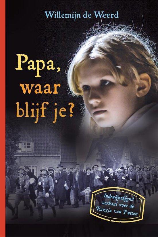 Boek cover Papa, waar blijf je? van Willemijn de Weerd (Hardcover)