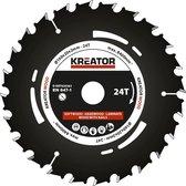 Kreator KRT020303 Invalzaagblad 160 mm - 24T