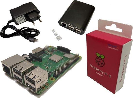 Raspberry Pi 3 B+ (2018 model) Starter Budget Kit