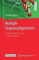 Boek cover Multiple Sequenzalignments van Theodor Sperlea