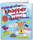 Paperdreams - Wenskaart - Cartoon - Mannen