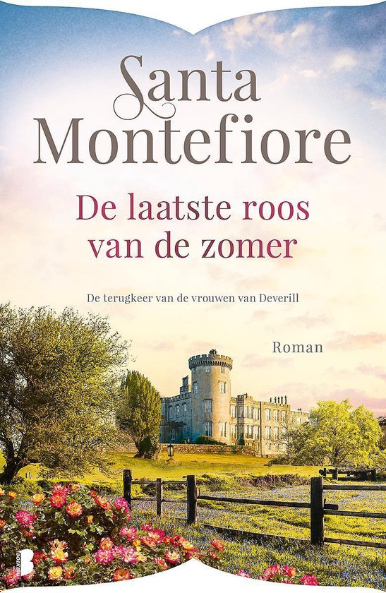 Boek cover Deverill 3 -   De laatste roos van de zomer van Santa Montefiore (Paperback)