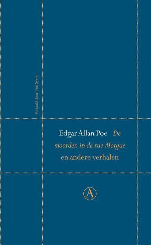 De moorden in de rue Morgue en andere verhalen - Edgar Allan Poe |