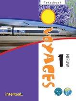 Voyages - nieuw 1 tekstboek + Intertaal Augmented
