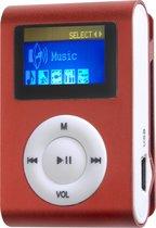 Difrnce MP855 - MP3 speler - 4 GB - Rood