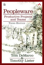 Boek cover Peopleware van Tom Demarco