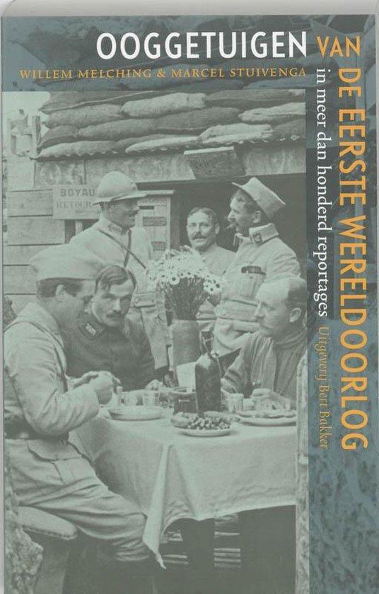 Ooggetuigen van de Eerste Wereldoorlog - Willem Melching pdf epub