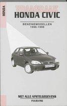 Autovraagbaken - Vraagbaak Honda Civic Benzine- en dieselmodellen 1996-1999